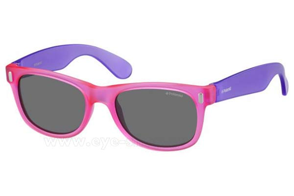 Sunglasses Polaroid P0115 IUB (Y2) VIOLET PIN (GREY PZ)