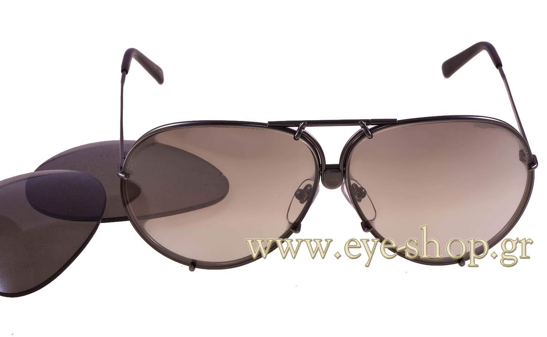 porsche design p8478 y interchangable 69 sunglasses men. Black Bedroom Furniture Sets. Home Design Ideas