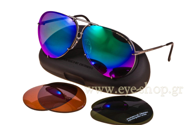Porsche Design P8478 C With 2 Pairs 69 Sunglasses Men Eyeshop