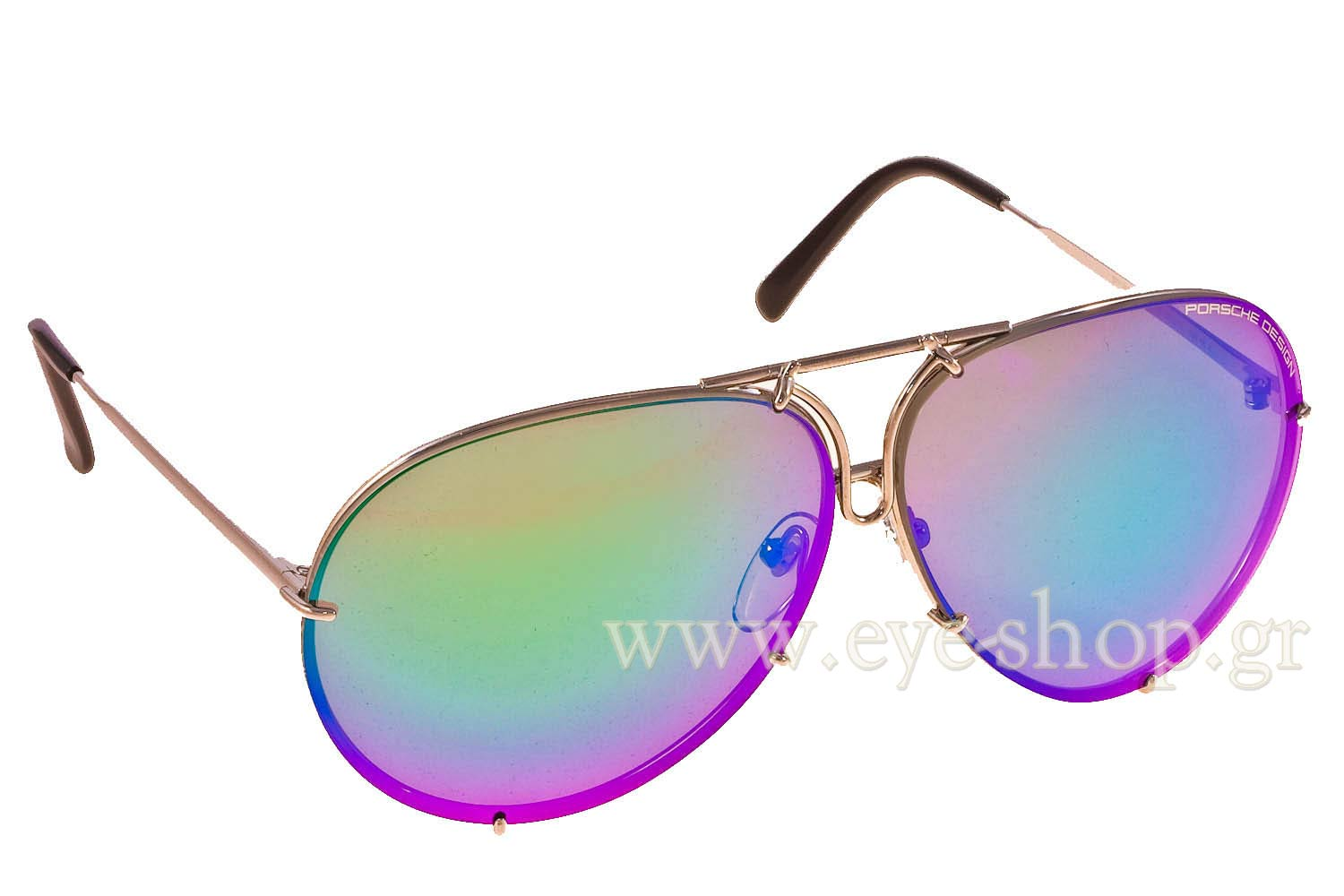 Porsche Design P8478 B With 2 Pairs 69 Sunglasses Unisex