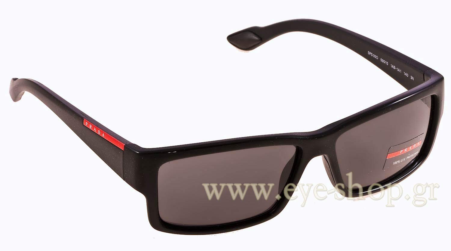 99afdb258cab 54IS Color: 5AV6S1 BROWN Sunglasses come with original Prada sport hard case,  cleaning cloth, and authenticity card.