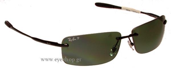 ray ban 3344  unisex sunglasses rayban 3344 002/9a polarized