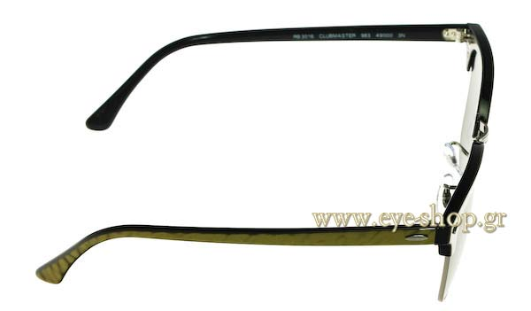 Rayban model 3016 Clubmaster and color 983