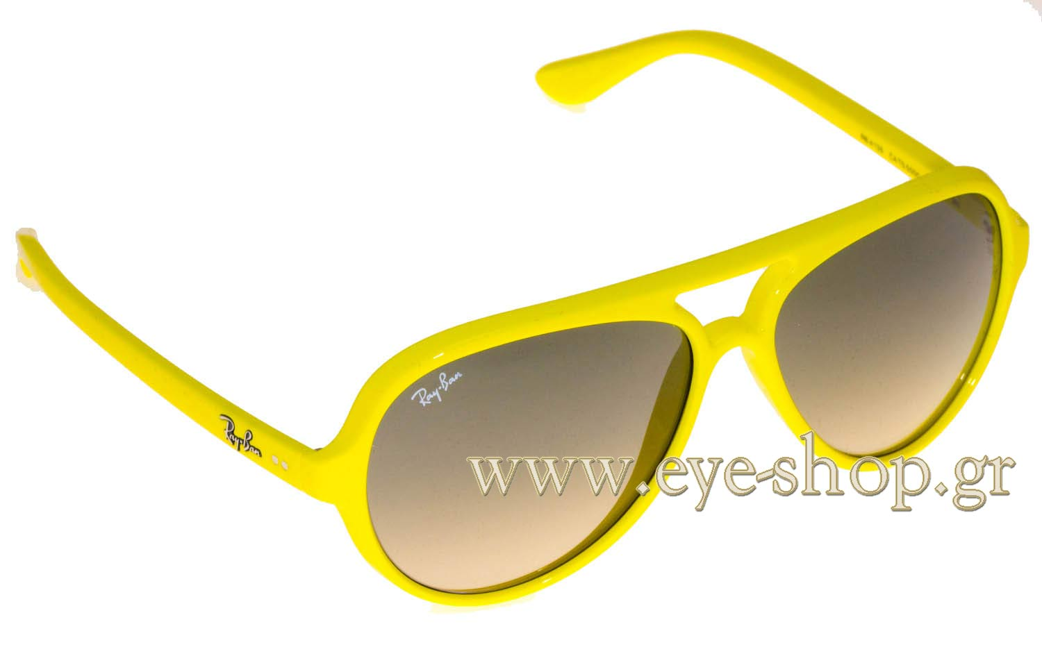 42c272c668 plastic. Enlarge Colors Discontinued. Sunglasses Rayban 4125 CATS 5000 754  32