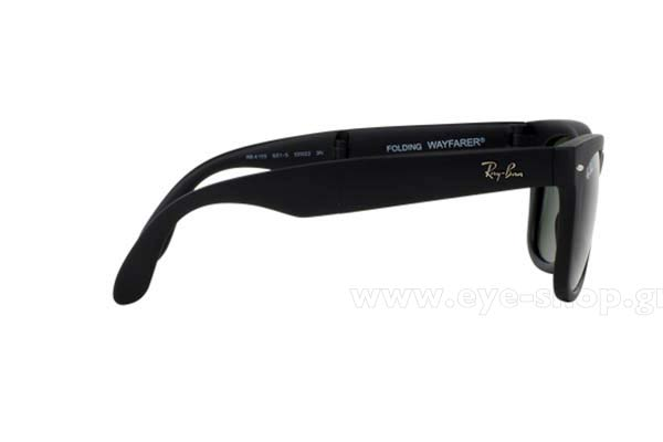 Rayban model 4105 Folding Wayfarer color 601S Folding