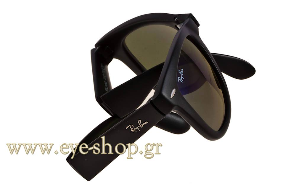 915e9ba6b0 Rayban model 4105 Folding Wayfarer color 601S68 Folding