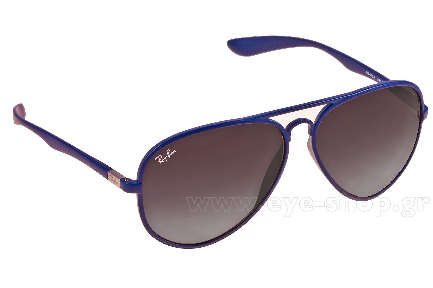 ad0ffffd79 SUNGLASSES Rayban 4180 Aviator 883 8G Liteforce Tech