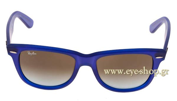 Frame Color blue - Lenses Color gray shaded organic. Rayban model 2140 ... 2a169aa19d2