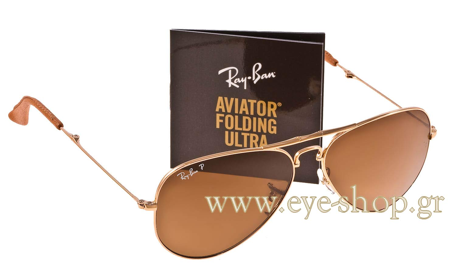 Aviator , color gold brown Metal , lenses brown krystal Polarized glass ,  Polarized. Enlarge Colors Discontinued. Sunglasses Rayban Aviator Folding  ... 5480b5f7ec83