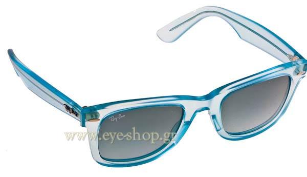 640ce10729 Sunglasses Rayban 2140 Wayfarer Γυαλιά Ice Pop Blueberry 60554M
