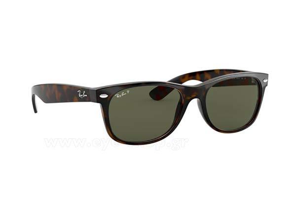 83d063ce6f8 Sunglasses RayBan 2132 New Wayfarer 902 58 polarized