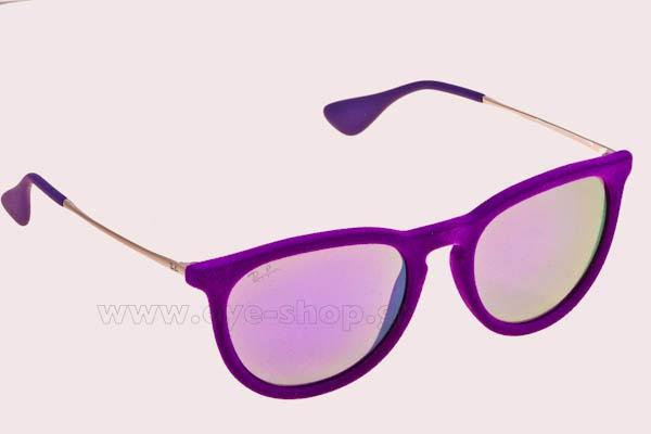 b738ae27c0 danielle-lloyd-wearing-sunglasses-rayban-erika-4171.html wearing ...