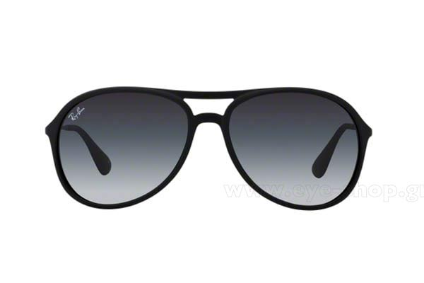 7ed8db6c32 Frame Color matte black - Lenses Color gray gradient organic. Rayban model  ALEX 4201 color 622 8G