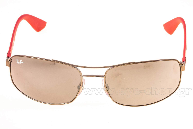 e73f389a4d Frame Color matte silver - Lenses Color silver mirror. Rayban model 3527 ...