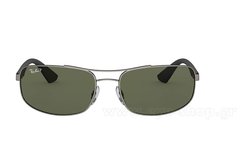 6c1fe60e40 Frame Color matte gray - Lenses Color g15 organic polarized. Rayban model  3527 ...
