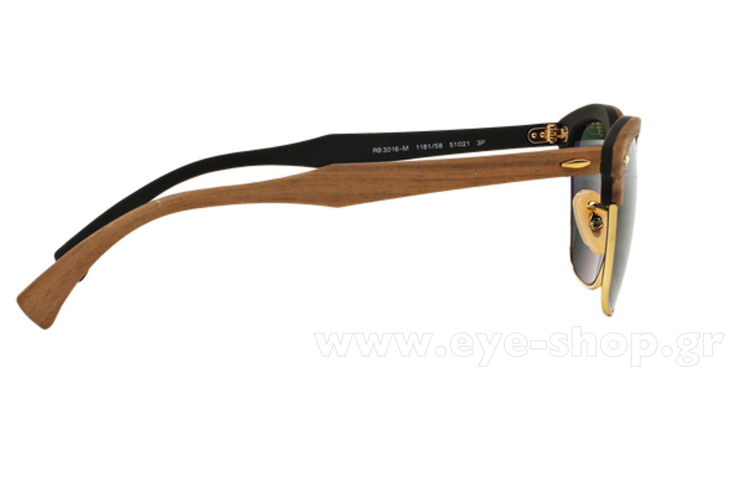 a68136d917 Rayban model Clubmaster Wood 3016M color 118158 polarized