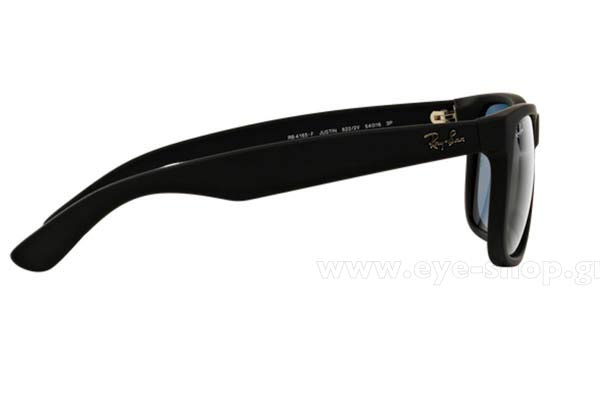 Rayban model Justin 4165 color 622/2V Polarized