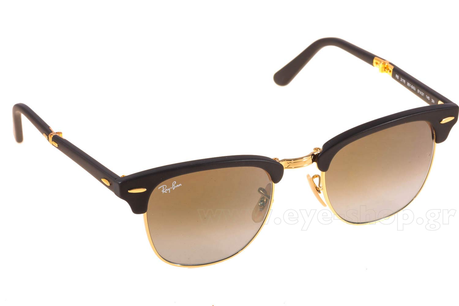 7c3a5f85d0 SUNGLASSES Rayban 2176 Folding Clubmaster 901S9J