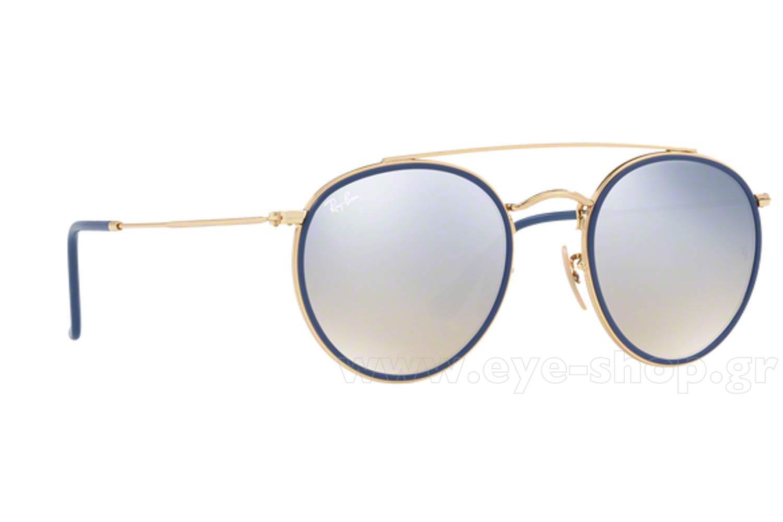 sunglasses rayban 3647n round 001 9u 51 unisex 2017 eyeshop ver1. Black Bedroom Furniture Sets. Home Design Ideas