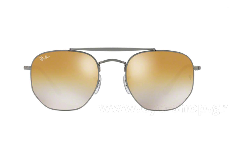 549d5560c7 Men Sunglasses Rayban 3648 THE MARSHAL 004 I3 Hexagonal Double Bridge -  size 54