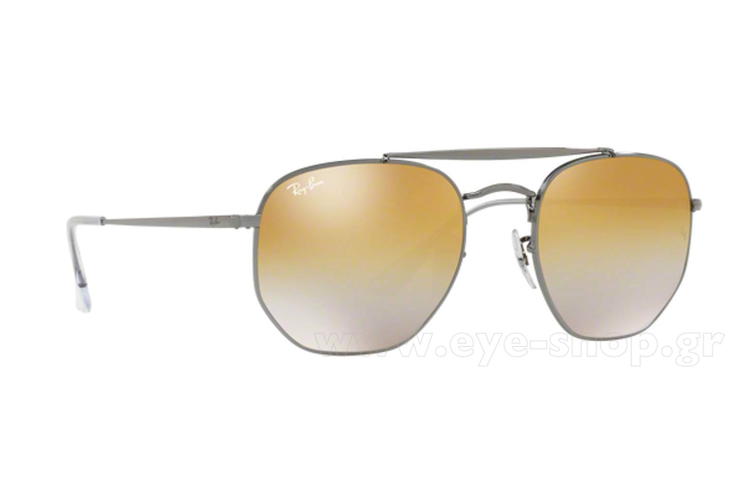 8dfc8f52c4 SUNGLASSES Rayban 3648 THE MARSHAL 004 I3 Hexagonal Double Bridge