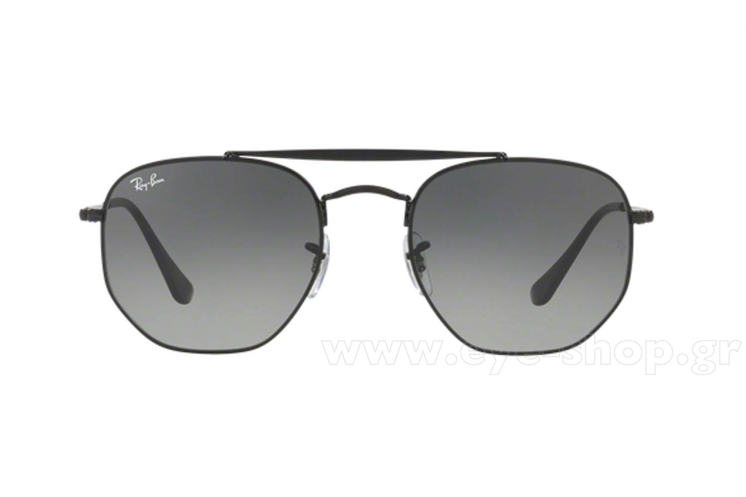 0c79fcb2db Men Sunglasses Rayban 3648 THE MARSHAL 002 71 Hexagonal Double Bridge -  size 54