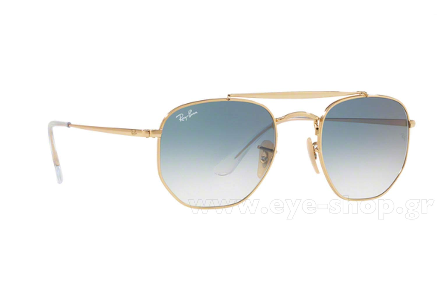 33e670df4e SUNGLASSES Rayban 3648 THE MARSHAL 001 3F Hexagonal Double Bridge