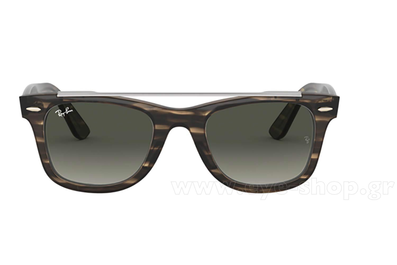 f24e41361b Men Sunglasses Rayban 4540 Wayfarer Double Bridge 641471 - size 50