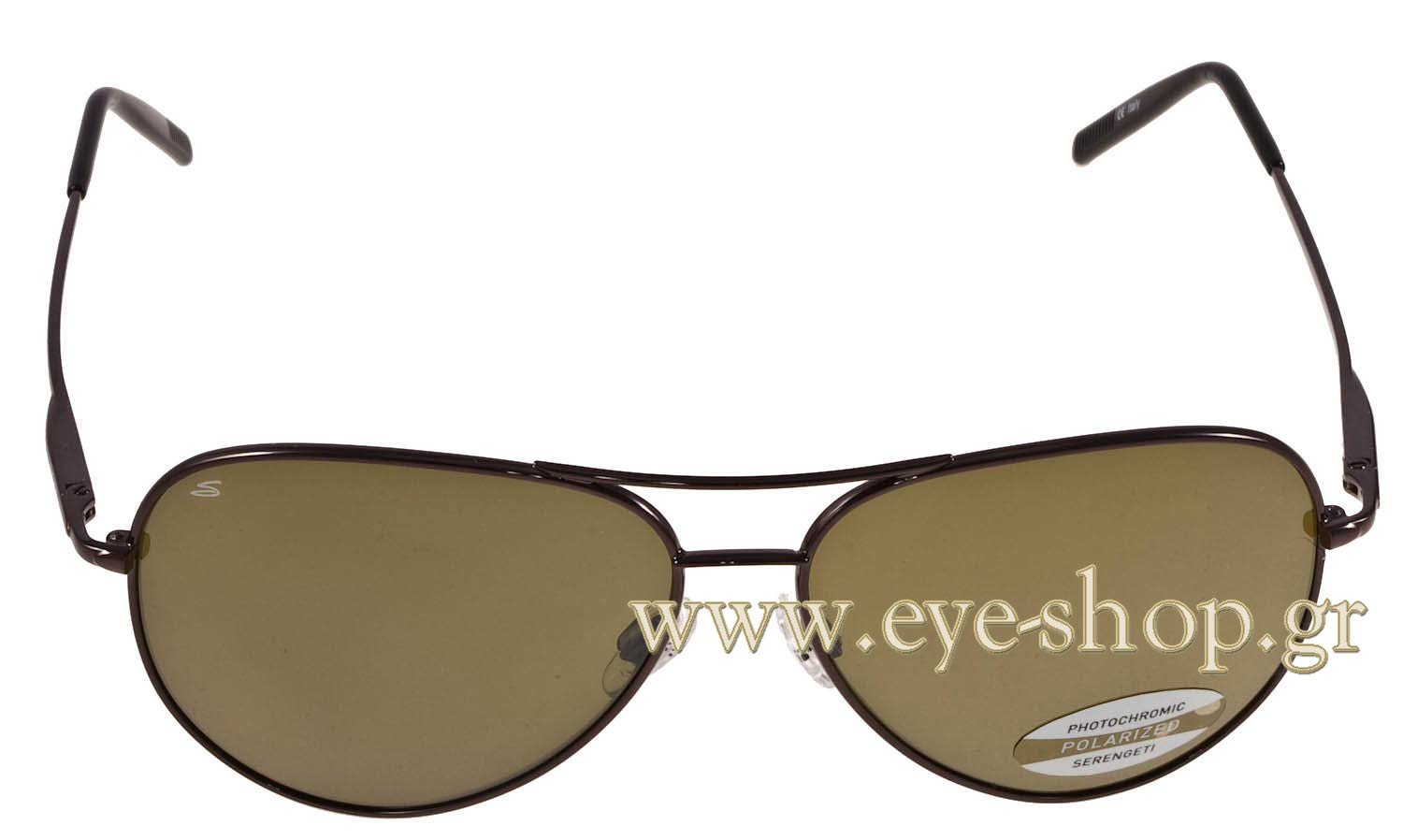 39b3ff9ddd Serengeti 7190 Medium Aviator SUNGLASSES