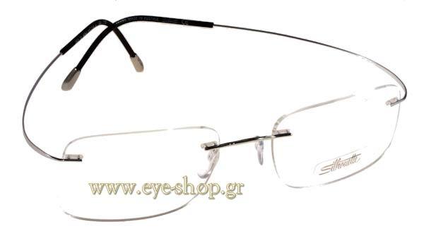 Silhouette Eyeglass Frame Parts : Eyewear Silhouette TITAN MINIMAL ART 7611 Sterling silver ...