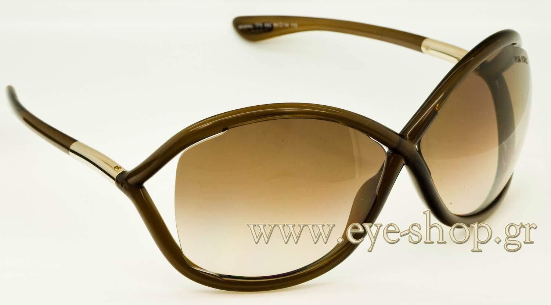 1ed537b6409 LISA-KUDROW WEARING SUNGLASSES TOM-FORD-TF-76 sunglasses 692 - 64. plastic