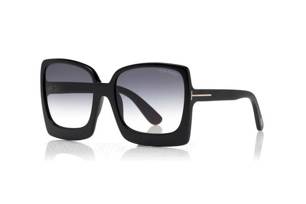 Sunglasses Tom Ford FT0617 KATRINE 01B