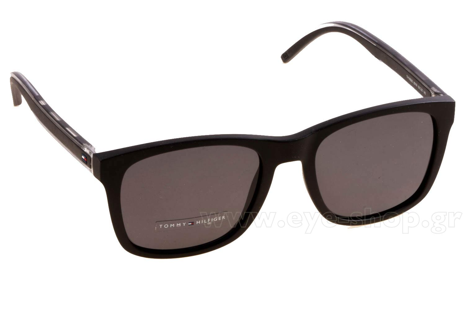 e141361405d SUNGLASSES Tommy Hilfiger TH 1493 S 807 (IR) BLACK (GREY BLUE)