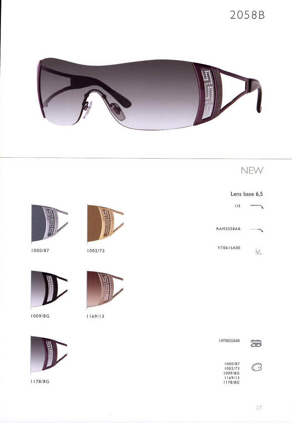 81222e68eaff Sunglasses Versace 2058B 11788G