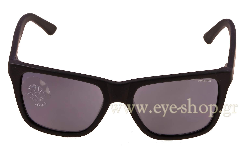 60c56dab078 Frame Color matte black - Lenses Color dark gray Polarized. Vuarnet model VL  1301 ...