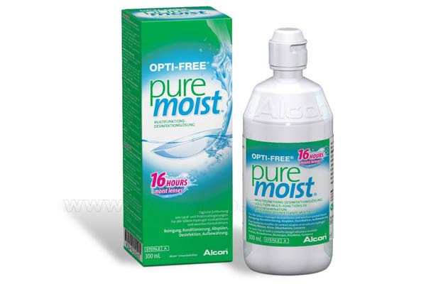 Contact lenses solutions cleaners  Alcon Opti Free Pure Moist 300ml