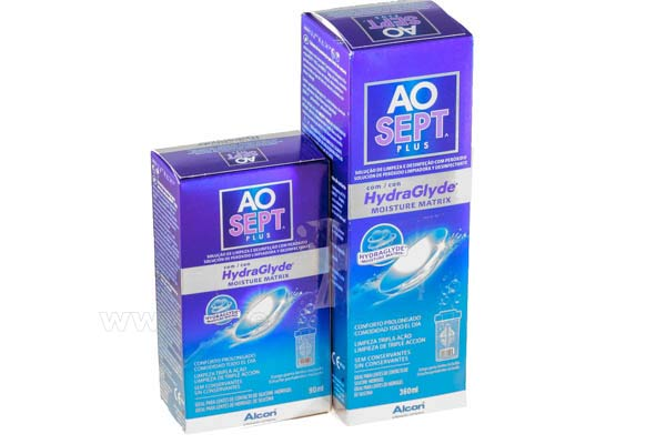 Contact lenses solutions cleaners  Alcon Ciba Aosept Plus 450ml Hydraglide
