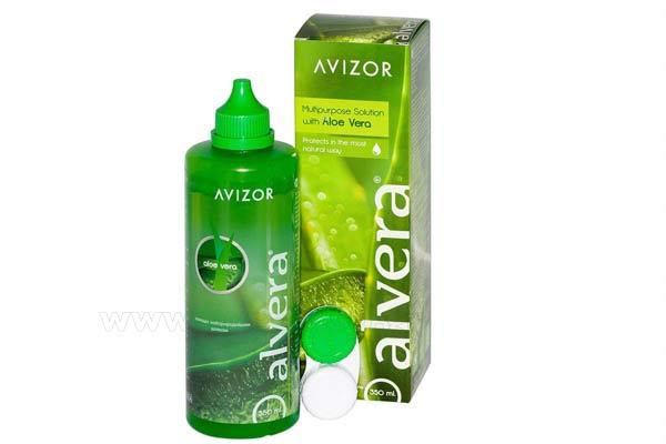 Contact lenses solutions cleaners  AVIZOR Alvera Avizor 350ml