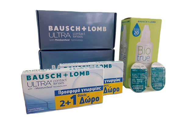 Monthly Contact Lenses price only  52 €